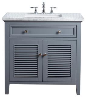 Stufurhome Genevieve Bathroom Vanity Transitional Vanities And Sink Consoles By