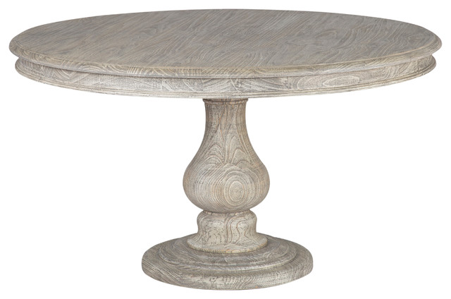 Shelley Round Dining Table Gray 54