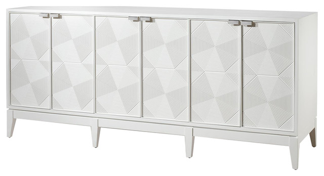 Bungalow 5 Borneo Extra Large Cabinet In White