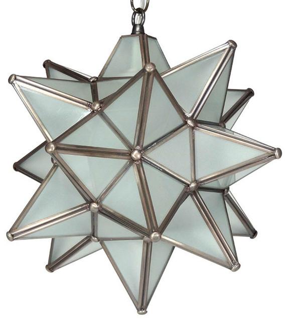 moravian star pendant light frosted glass bronze frame 12 mediterranean pendant lighting. Black Bedroom Furniture Sets. Home Design Ideas