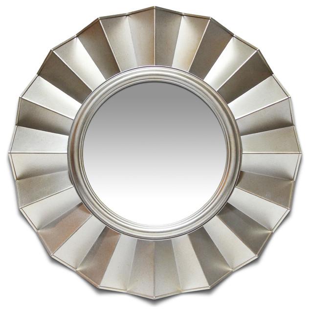"Brussels Silver Mirror, 20""."