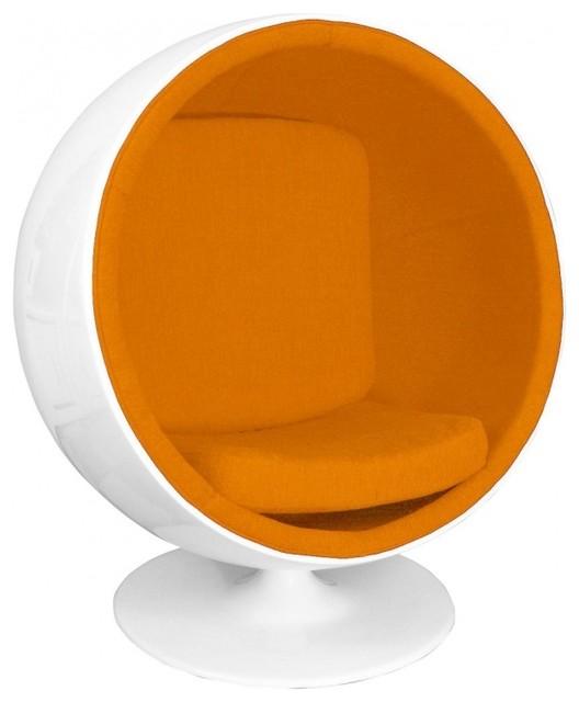 ball chair lounge sessel minimalistisch sessel von. Black Bedroom Furniture Sets. Home Design Ideas