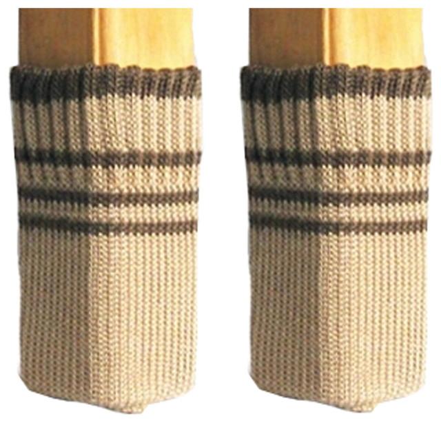 Set Of 32 Chair Table Leg Pads Furniture Knit Socks Floor