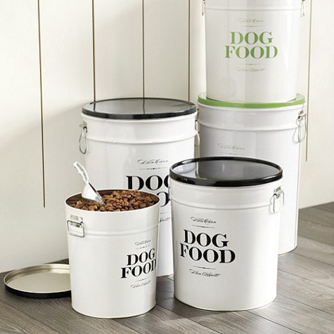 Bon Chien Food Canister 40 Lb Contemporary Food