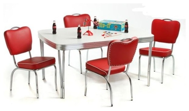 vintage dining chairs australia retro diner furniture for sale dinette set contemporary sets 5 piece bundle red