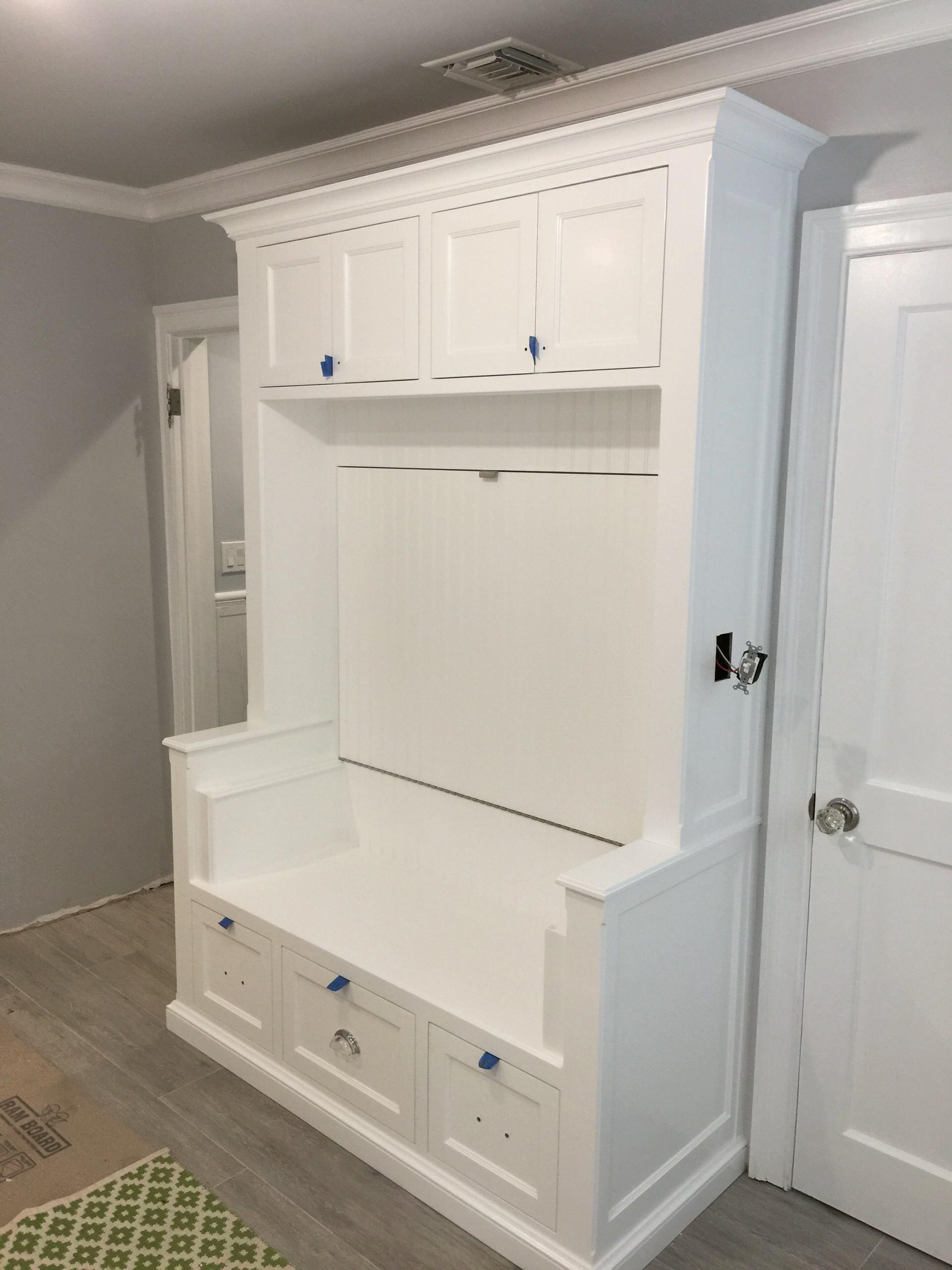 Bel Air Kitchen, Master Bath, Laundry Room & Bookcase