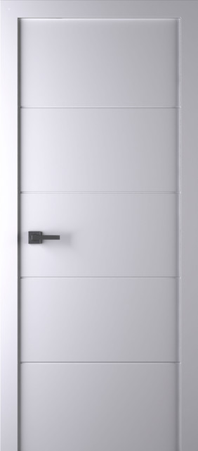 arazzinni arvika interior door white 18x80 door slab only contemporary