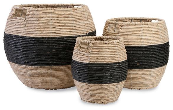 Woven Baskets, 3-Piece Set