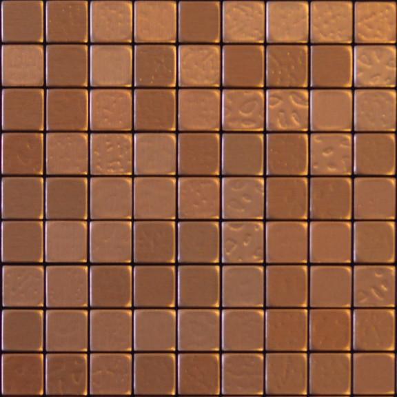 """Kitchen Floor Tile Samples peel and stick backsplash tile, """"copper coin"""" sample"""