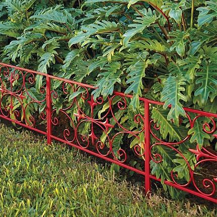 Looking To Buy Substantial Scroll Garden Edging From Grandin Road