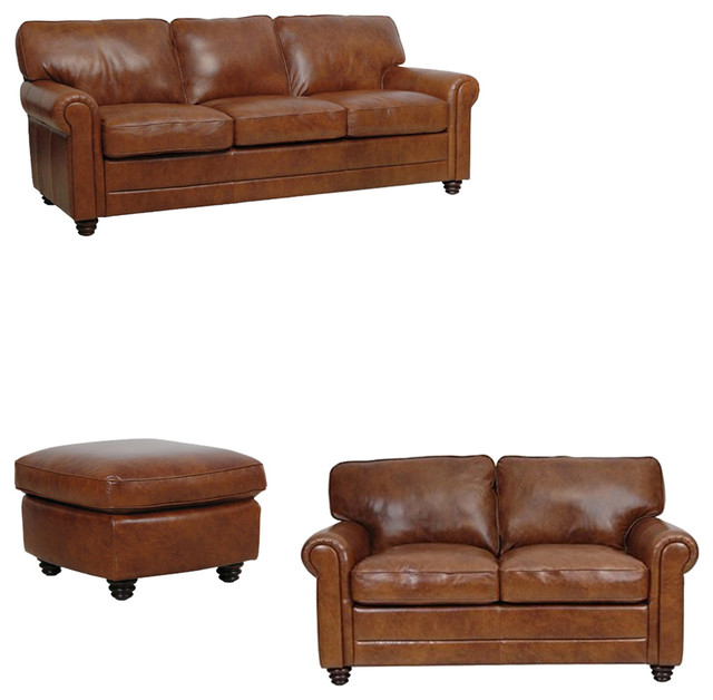 Andrew 3 Piece Living Room Set Traditional Living Room Furniture Sets B
