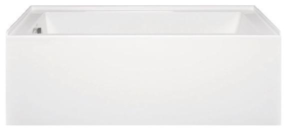 Turo 6030 Ada Left Hand, Builder Series, Bathtub, White.