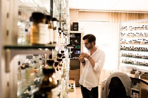 Mario Lombardo (Geschäftsführer von Atelier Oblique) in Grasse