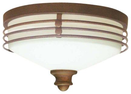 Volume Lighting V7352 Avila 1 Light Flush Mount Ceiling Fixture.