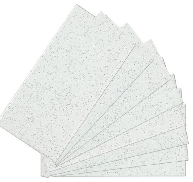 "3""x6"" Skinnytile Peel And Stick Glass Wall Tile 04414, Set Of 48."