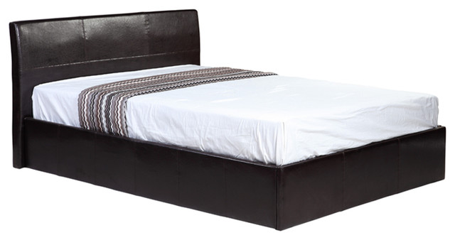 Faux Leather Single Bed Frame With Storage Contemporary Divan Beds By Direct Furniture