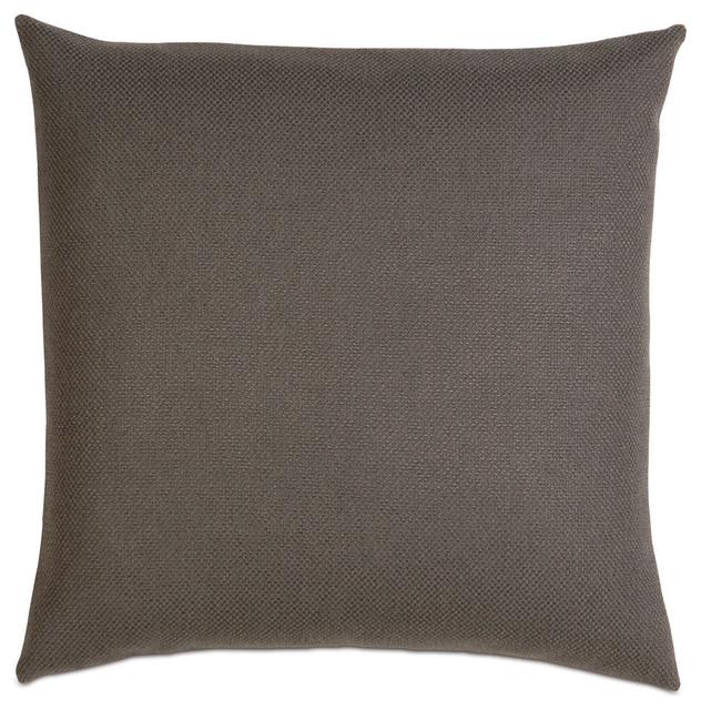 crosby charcoal euro sham pillowcases and shams by