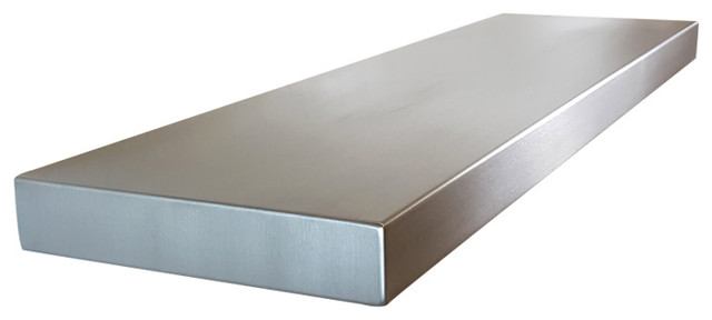 Stainless Steel Seamless Floating Shelves, 24