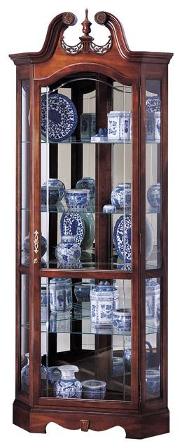 Howard Miller Berkshire Corner Display Curio Cabinet