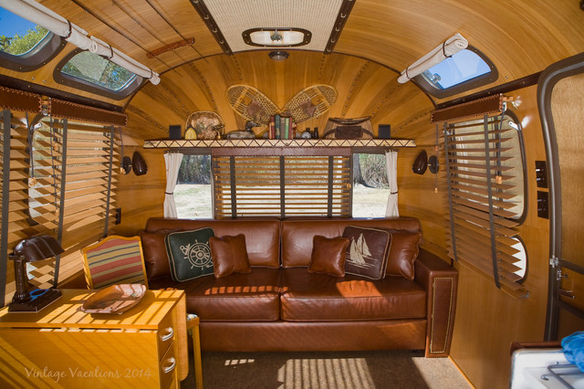 1977 Adirondack Airstream Restoration Rustic Other