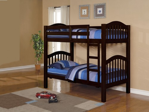Can these bunk beds be separated into twin beds that look the same