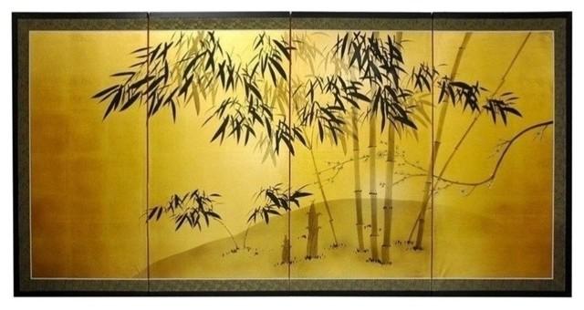 "Gold Leaf Bamboo 36"""