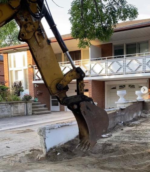 Concrete Excavation ( Double Parking)