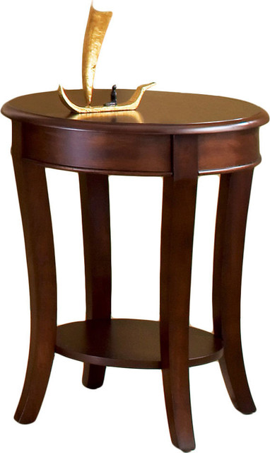 Troy End Table, Natural.
