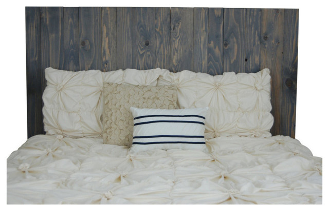 Ralston Stained Leaner Headboard, Classic Gray, King/california King.