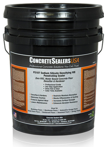 Ps107 Sodium Silicate Densifying Wb Penetrating Sealer 5