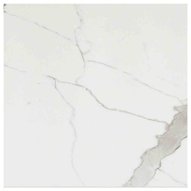 Timeless Calacatta Porcelain Tile, Polished Finish 600x1200, 1 Box