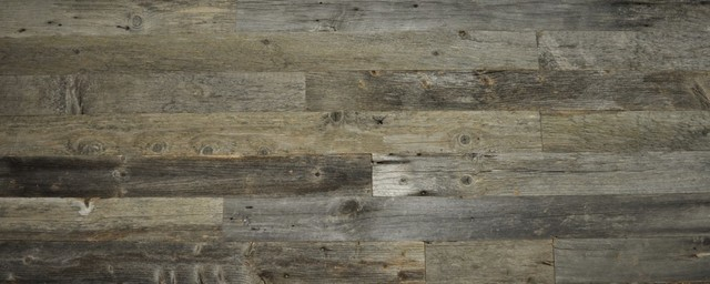 "Reclaimed Wood Wall Paneling, Gray, 3.5"" Wide, Unsealed, 20 Sq. Ft.."