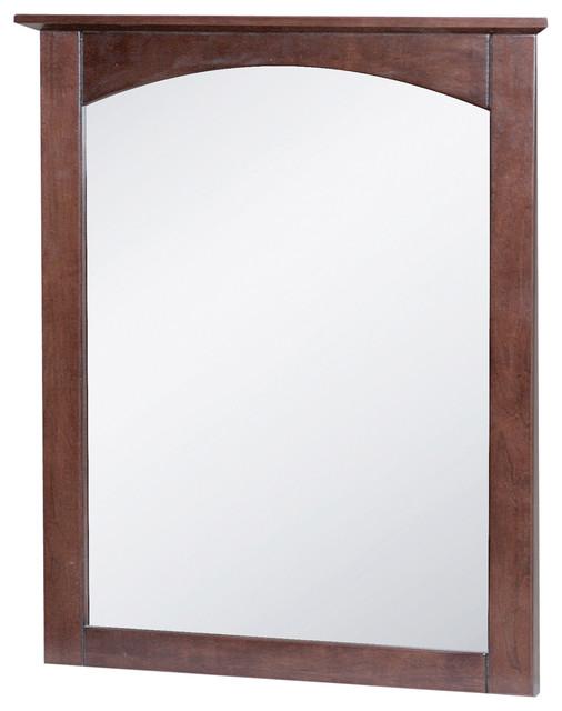 Cherry Bathroom Mirrors Avanity Napa M24 Dc Cherry Bathroom Mirror Lowe S Canada Prelude