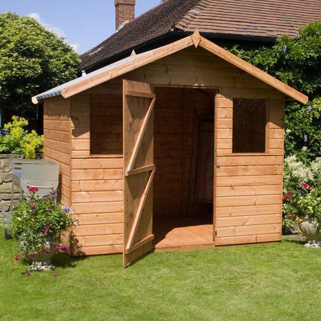 Tongue And Groove Apex Garden Shed