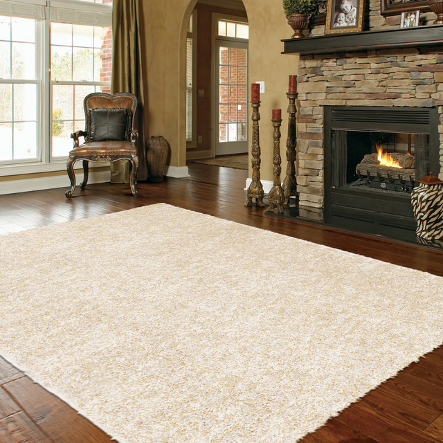Mohawk Home Shimmer Shag Pearl Rug traditional rugs. Mohawk Home Shimmer Shag Pearl Rug