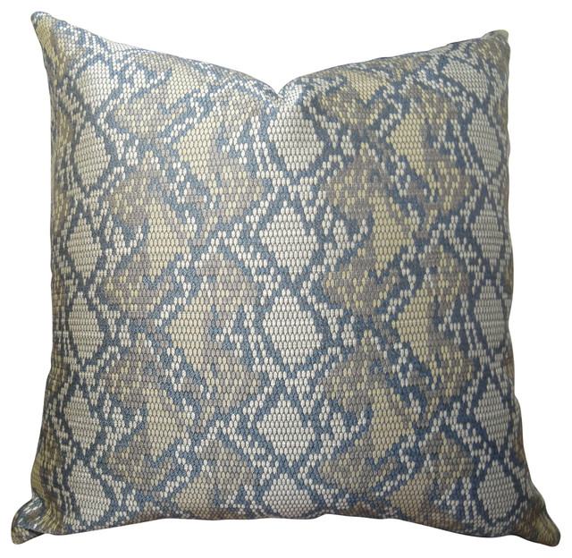 Luxury Decorative Pillow Collection : Thomas Collection - Thomas Collection Taupe Gray Luxury Sofa Pillow & Reviews Houzz