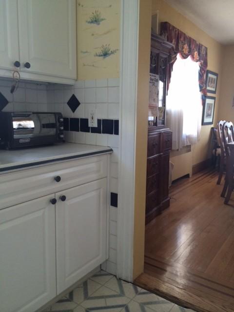 Kitchen Needs A New Floor Wood Tile Linoleum