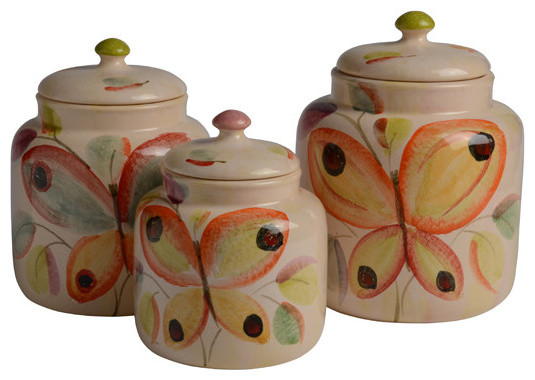 Merveilleux Ninfa Canister Set Contemporary Kitchen Canisters And Jars By Modigliani Contemporary  Canister Sets Kitchen