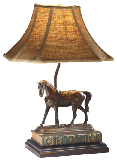 Ok Casting English Race Horse Lamp View In Your Room