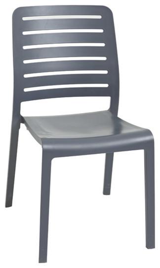 chaise charlotte country contemporain chaise de jardin par castorama. Black Bedroom Furniture Sets. Home Design Ideas