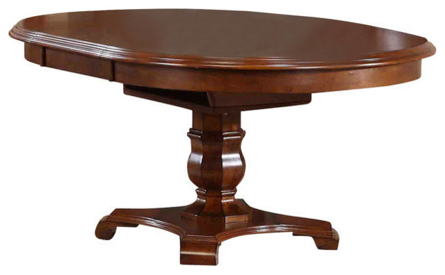 Bordeaux Butterfly Leaf Dining Table, Chestnut.