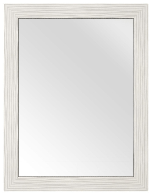 Contour Shaker Mirror White 23 Contemporary Bathroom Mirrors By Cutler Kitchen Bath
