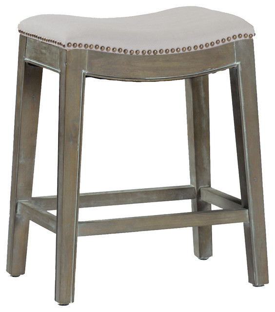 Mildred Saddle Seat Bar Stool