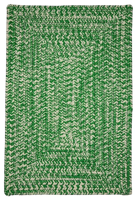 Braided catalina area rug contemporary hall and stair for Contemporary runner rugs for hallway