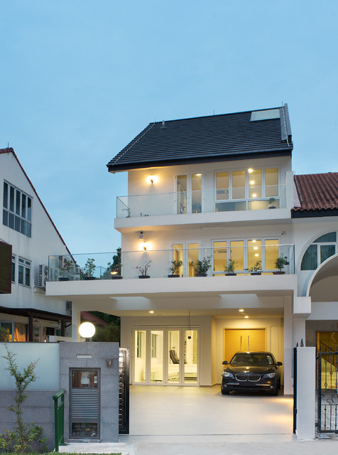 Landed property at sunrise drive singapore for Home designs singapore