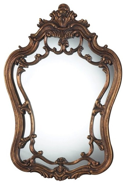 Sterling Sandyford Decorative Mirror, Antique Gold Leaf.