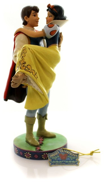 Jim Shore Happily Ever After Piolyresin Snow White and Prince 4049623