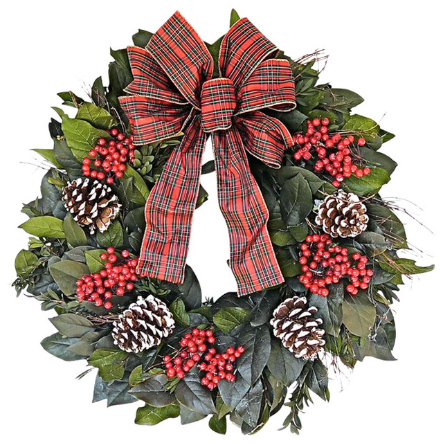 Joy To The World Wreath Traditional Wreaths And