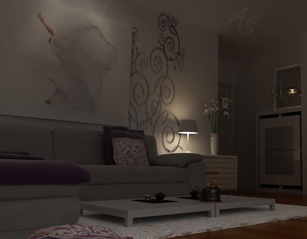 Living room design project (3D Max & Vray) & Refurbishment