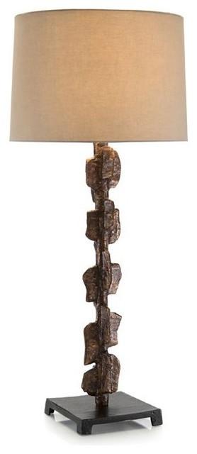 John Richard Jrl 9007 36 5 Barbed Bronze Buffet Lamp Transitional